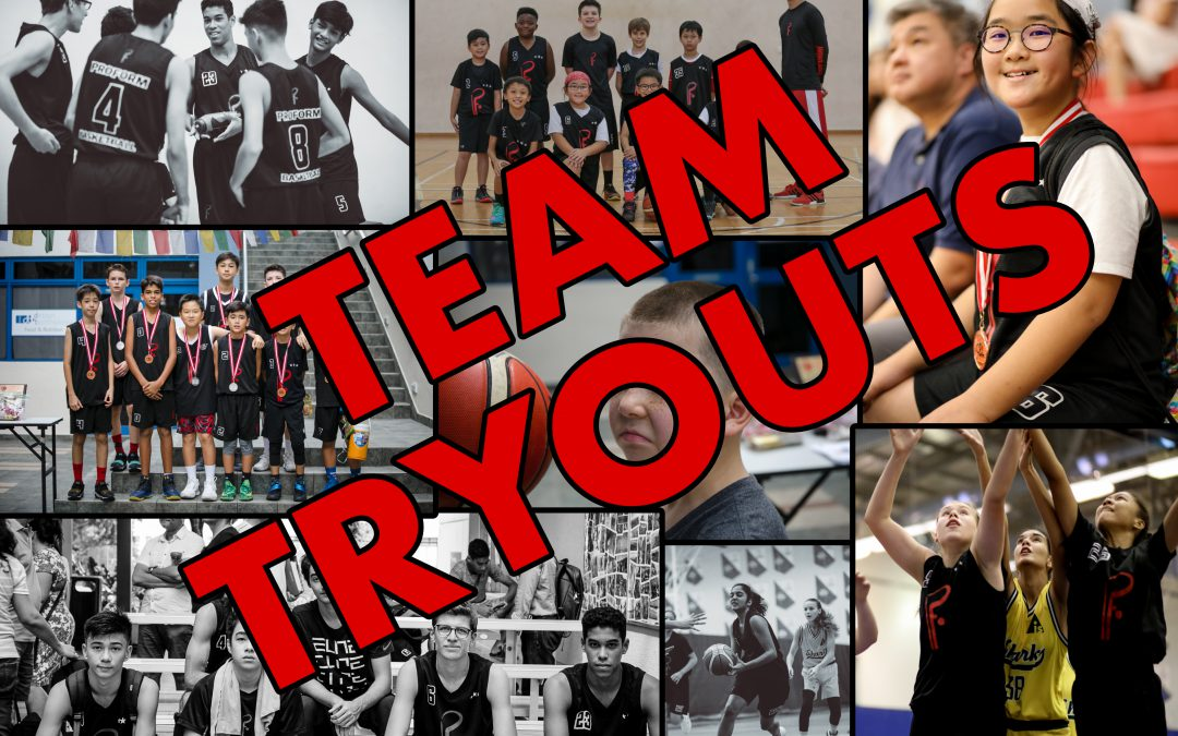 Team Tryouts 2020